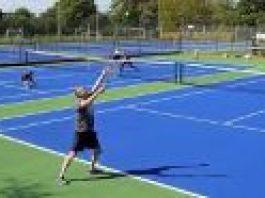 image of a person on a tennis court
