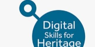 digital skills for heritage logo