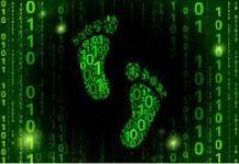image of a digital footprint