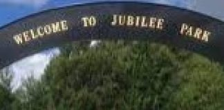 sign at Jubilee Park